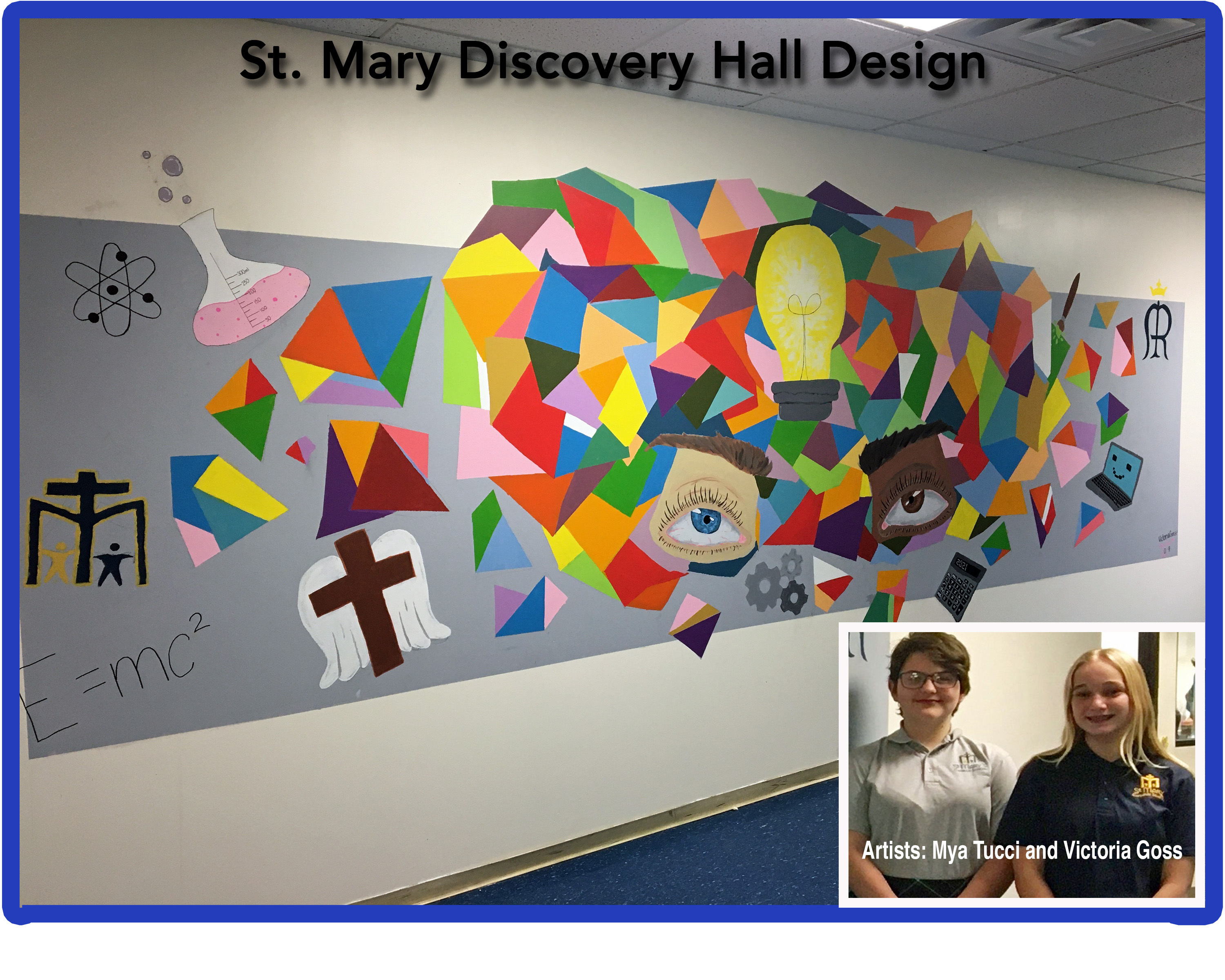 Discovery Hall Entryway Design (click for photo)
